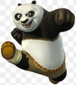 Kung Fu Panda - Po Kung Fu Panda Giant Panda Master Shifu PNG