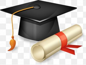 Cap - Square Academic Cap Graduation Ceremony Hat Clip Art PNG