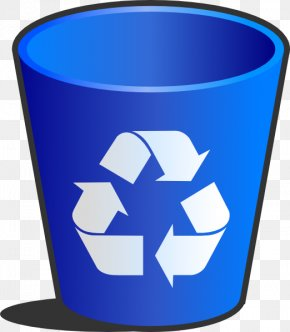 Recycle Bin - Waste Container Recycling Bin Paper Clip Art PNG