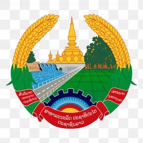 National Emblem Of India - Pha That Luang Emblem Of Laos Flag Of Laos National Emblem Coat Of Arms PNG