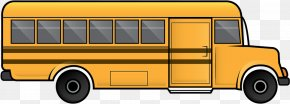 Summer Driving Pattern Bus - School Bus Clip Art School Bus Image PNG