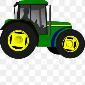 Farm Equipment Cliparts - Tractor John Deere Clip Art PNG