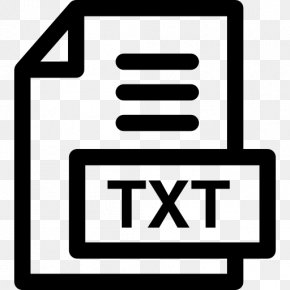 TXT File - Text File PNG