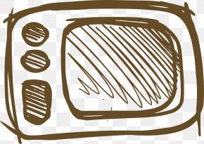 Hand Drawn Microwave Oven - Microwave Oven Clip Art PNG