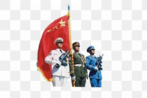 Soldier - National Day Of The People's Republic Of China Nanchang Uprising Military Personnel Salute PNG