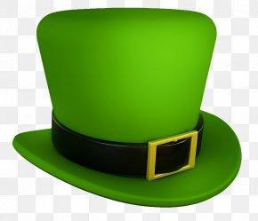 Saint Patricks Day Green Leprechaun Hat Transparent PNG