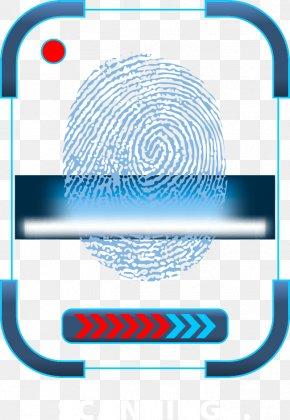 Vector Fingerprint Science And Technology - Fingerprint Euclidean Vector Icon PNG