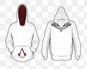 Fashion T-shirt Pattern - Hoodie T-shirt Assassin's Creed III Ezio Auditore PNG