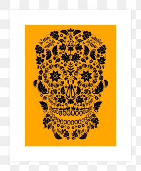 Day Of The Dead Artwork - La Calavera Catrina Day Of The Dead Clip Art Illustration PNG