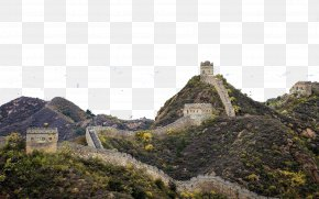 Great Wall Of China Site - Badaling Great Wall Of China Juyong Pass Jundu Mountains Oude PNG