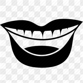 Mouth And Tongue Icon - Mouth Smile Lip PNG