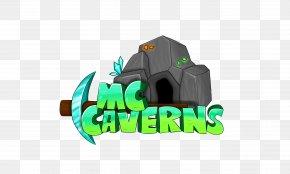 Cavern - Minecraft Herobrine Logo Gamer Video Game PNG
