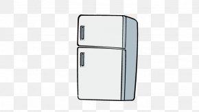 Refrigerator - Refrigerator Home Appliance PNG