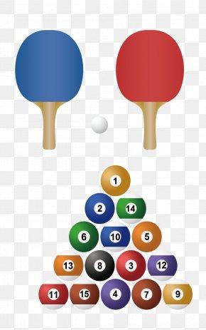 Vector Billiards - Ball Game Tennis Badminton PNG