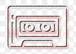 Rectangle Text - Cassette Icon Free Icon Hipster Icon PNG