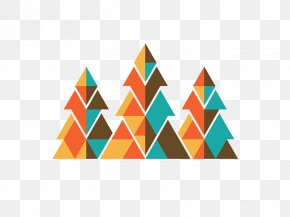 Creative Triangle Geometry - Geometry Graphic Design Logo Pattern PNG