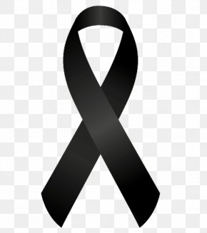 Ribbon - National Day Of Mourning Condolences Death 2017 Barcelona Attack PNG