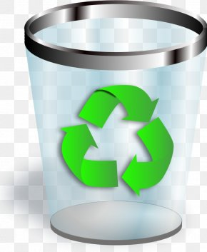 Pictures Of Trash - Recycling Bin Trash Waste Container Icon PNG