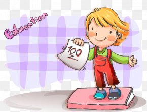 Child Exam One Hundred Points - Download PNG