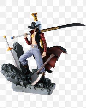 One Piece - Dracule Mihawk Figurine Monkey D. Luffy One Piece Banpresto PNG