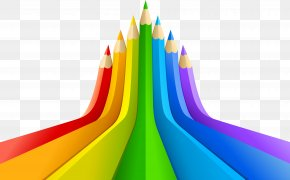 Creative Pencil - Through The Colour Lens Color Pencil Illustration PNG