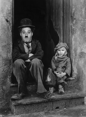 Charlie Chaplin - Charlie Chaplin The Tramp The Kid Child Actor Film PNG