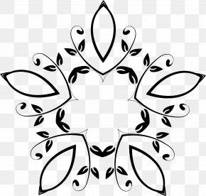 Geometric Flowers - Flower Petal Clip Art PNG