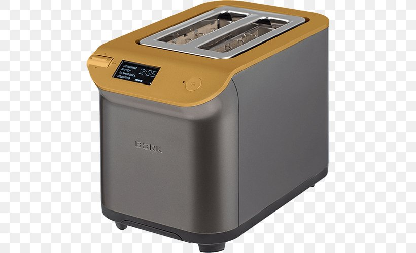 Toaster Home Appliance Bork Bread Machine Blender Png 500x500px