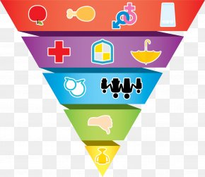Color Health Pyramid - Healthy Eating Pyramid Line PNG