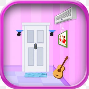 House - Pink M House Cartoon PNG