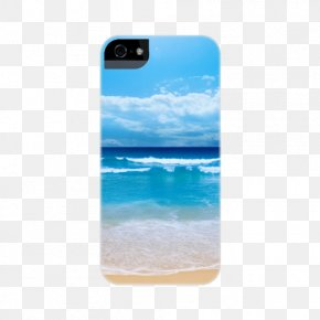 Beach Elements - Samsung Galaxy A9 Pro Electric Blue Turquoise Cobalt Blue Teal PNG