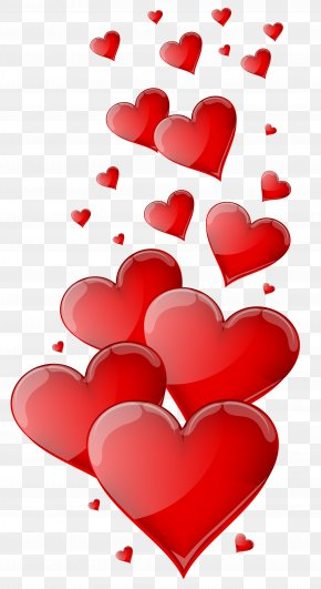 Red Hearts Clipart Image - Heart Love Clip Art PNG