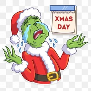 The Grinch - How The Grinch Stole Christmas! Christmas Day Telegram Santa Claus PNG