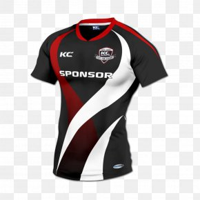 Rugby - Printed T-shirt Rugby Shirt Polo Shirt PNG