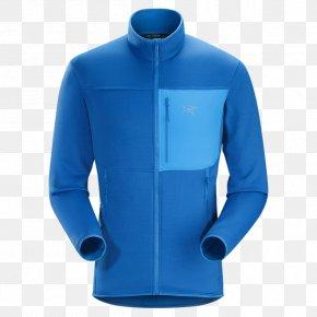 Arc'teryx - Polar Fleece Jacket Arc'teryx Clothing Sleeve PNG