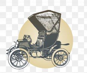 Vintage Cars - Car Transport Euclidean Vector PNG