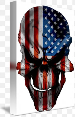 American Flag Skull Military - Flag Of The United States Flag And Coat Of Arms Of Corsica Art PNG