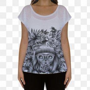 T-shirt - T-shirt Art Handbag Drawing PNG