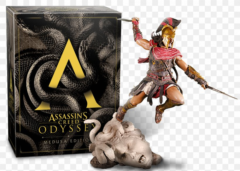 Assassin's Creed Odyssey Medusa PlayStation 4 Video Games, PNG, 1790x1277px, Medusa, Action Figure, Figurine, Game, Gamestop Download Free