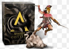 Assassin's Creed Odyssey - Assassin's Creed Odyssey Medusa PlayStation 4 Video Games PNG