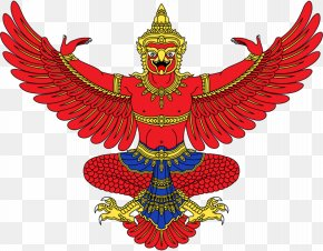 Thai - Emblem Of Thailand Garuda Flag Of Thailand National Emblem Of Indonesia PNG