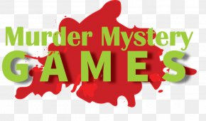 Murder Mystery Game - Murder Mystery Game Logo Video Games Party Game PNG