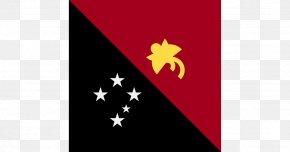 Flag - New Guinea Port Moresby Flag PNG