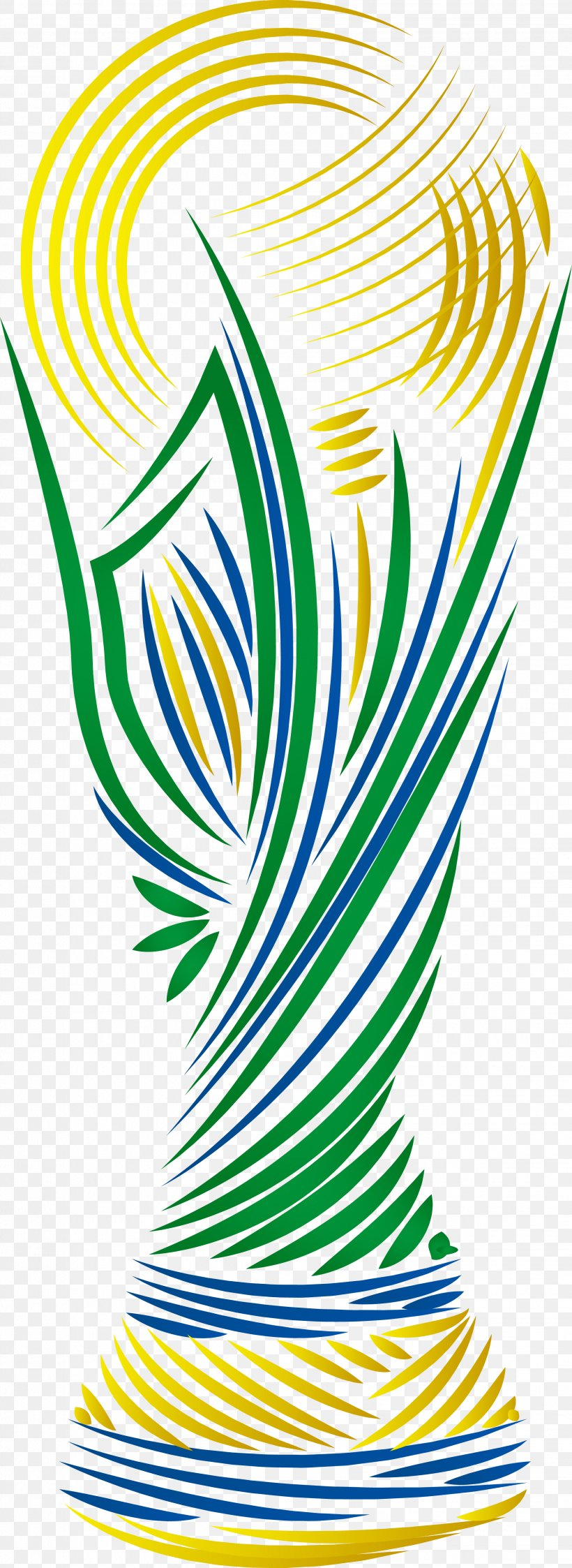 2014 FIFA World Cup Brazil National Football Team Euclidean Vector, PNG, 2244x6148px, 2014 Fifa World Cup, Area, Brazil, Brazil National Football Team, Cup Download Free