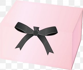 Fashion Accessory Paper - Pink Ribbon Present Box Gift Wrapping PNG