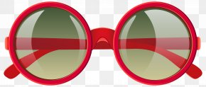 Cute Red Sunglasses Clipart Image - Google Logo PNG