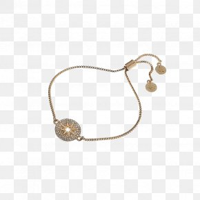 Lucky Charm - Necklace Bracelet Earring Jewellery Gold PNG