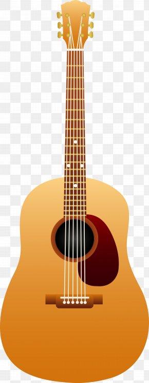 Guitars Cartoon - Steel-string Acoustic Guitar Clip Art PNG