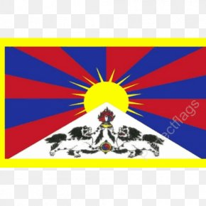 Flag - Flag Of Tibet National Flag Incorporation Of Tibet Into The People's Republic Of China PNG