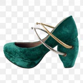 Anushka Sharma Childhood - Suede Fashion Shoe Turquoise WordPress.com PNG